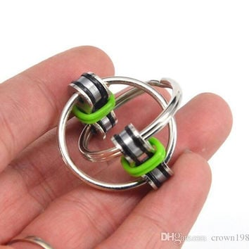 new Key Ring Hand Spinner Fidget EDC Sensory Stress Relief Toy For Autism ADHD toy Fidget Spinner stress release Toy