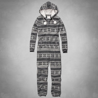 FAIR ISLE SLEEP Onesuit