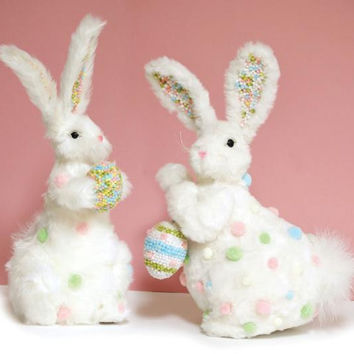 2 Easter Figures - Bunnies