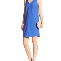 Banana Republic Womens Factory Sleeveless Vee Dress