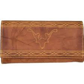 Frye Campus Stitch Leather Wallet - Multiple Colors
