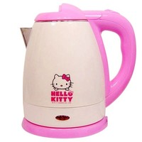 Hello Kitty 5-Cup Electric Kettle 1.2 Lit / 1200cc AC 110V Pink Sanrio