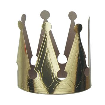 Gold Foil King's Crown