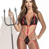 Mapale 6381 Sexy Devil Costume Outfit Color Multi-colored