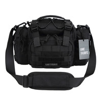 Tactical MOLLE Hunting Waist Bag Pack 3 Ways Modular Deployment Utility Bag