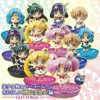 Petit Chara! Sailor Moon Figure Set Outer Sailor Senshi Glitter ver. **Preorder**