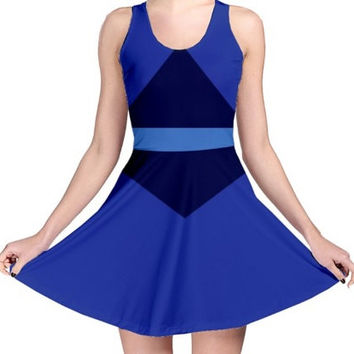 STEVEN UNIVERSE Crystal Gem Lapis Lazuli Inspired Dress