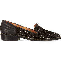 THE KOOPLES Suede stud slippers