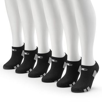 Champion Women's 6-pk. Performance Cushioned No-Show Socks, Size: 9-11