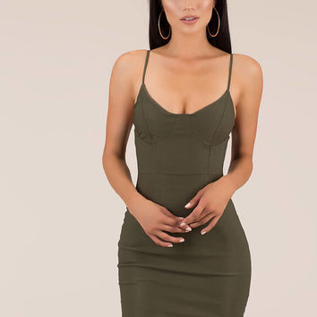 The Perfect Fit Bustier Minidress