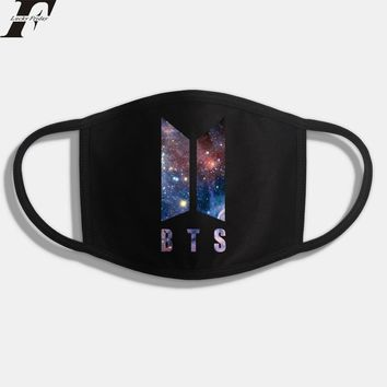 K POP BTS Banting Boy New Anime Wings Army Dust Cotton Mouth-muffle Face Masks