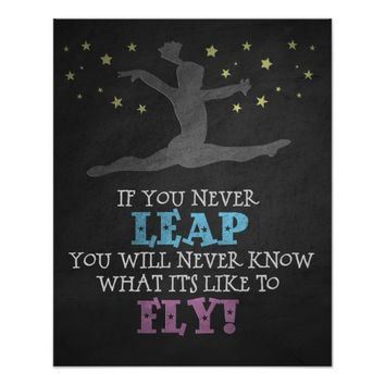 Like to Fly - Gymnastics Poster