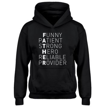 Youth Father Kids Hoodie
