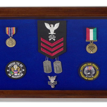 Military Medal Display Case - Large