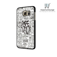 Pierce The Veil Song Lyric For Samsung Galaxy S6| S6 Edge Case