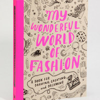 My Wonderful World Of Fashion Coloring Book | fredflare.com