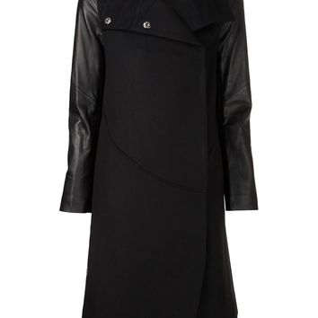 Tess Giberson funnel neck coat