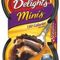 Betty Crocker Warm Delight Minis - Molten Caramel Cake, 2.46-Ounce Packages (Pack of 9)