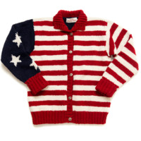 USA Flag Sweater