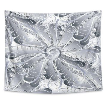 Tapestry Silver Floral