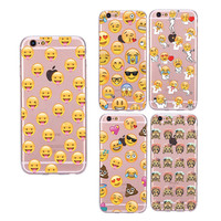 Cute Stylish Iphone 6/6s Hot Deal On Sale Innovative Emoji Iphone Apple Soft Phone Case [8790241607]