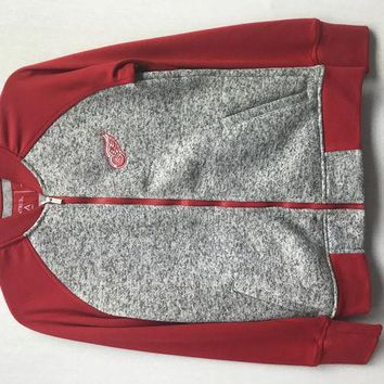 DCCKG8Q NHL Detroit Red Wings Womens Visitor Jacket