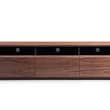 Modrest Terrance Modern Walnut TV Stand