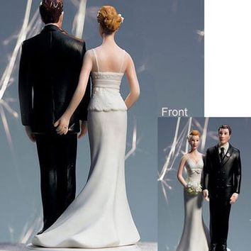 The Love Pinch Bridal Couple Figurine - Ethnic Couple