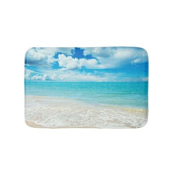 Summer Day Bathroom Mat