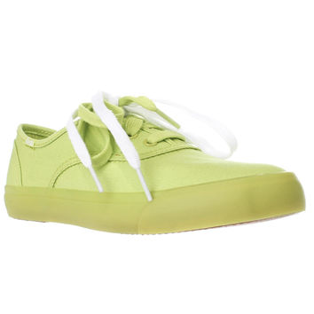Keds Triumph Casual Lace Up Fashion Sneakers, Lime Punch, 6.5 US / 37 EU