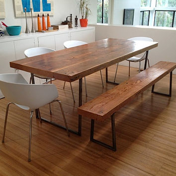 """Love this Reclaimed Wood Table... We make them in any size. 72"""" x 34"""" x30""""  tall"""