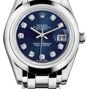 Rolex - Datejust Pearlmaster 34 White Gold - Domed Bezel