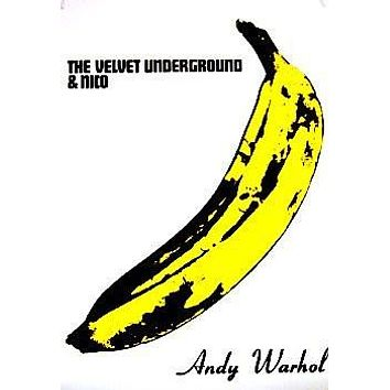 THE VELVET UNDERGROUND POSTER Andy Warhol Banana