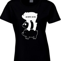 We Bare Bears Womens T Shirt