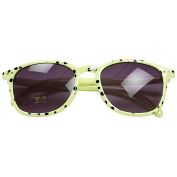 Mini Rodini Green Spot Sunglasses