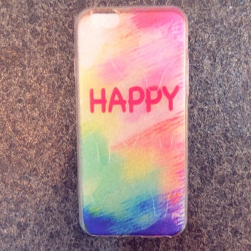 Summer Melt Happy iPhone 5s 6 6s Plus creative case Gift-146