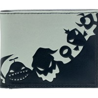 The Nightmare Before Christmas Monsters Black Men's Wallet
