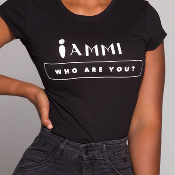 iAMMI.... Who are you? Tee SMALL