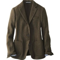 WOMEN SOFT TWEED JACKET | UNIQLO