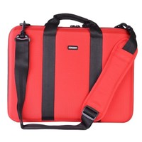 Cocoon Murray Hill EVA Shock-Absorbent Laptop Case w/Grid-It System - Fits 16 (Racing Red) - CLB403RD