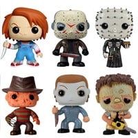Funko Pop Classic Horror Movies Set of 6 2291.92.96.2761.3362.4785
