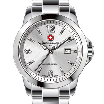 Swiss Military by R 50503 3 A Alpha Men's Watch Silver Dial Swiss Made