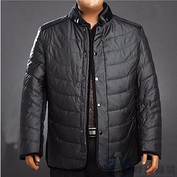 White duck down overlord rat plus size down coat big size outerwear fat people men's clothing Large yard down jacket 6XL