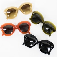 Thick Frame Statement Sunnies