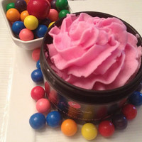 Whip Cream Soap - Bubblegum Scent- Shaving Cream - Vegan SLS and Paraben Free - Gift Ideas!