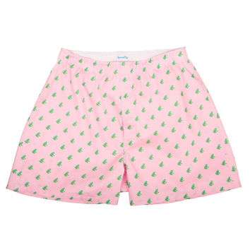 Frog Boxers - Pink