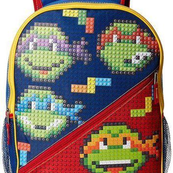 "Nickelodeon Teenage Mutant Ninja Turtles Boy's Bubble Block 3-D 16"" Backpack"