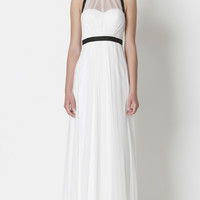GEORGE IRIS EVENING GOWN WHITE | EVENING WEAR - white maxi dress