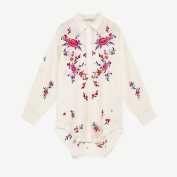 EMBROIDERED SHIRT DETAILS