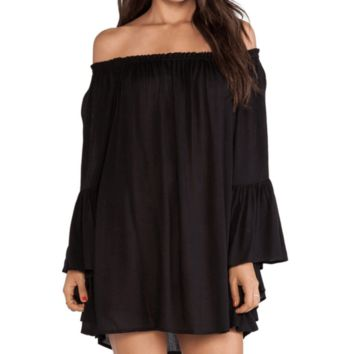 Sexy Loose Off Shoulder Mini Dress